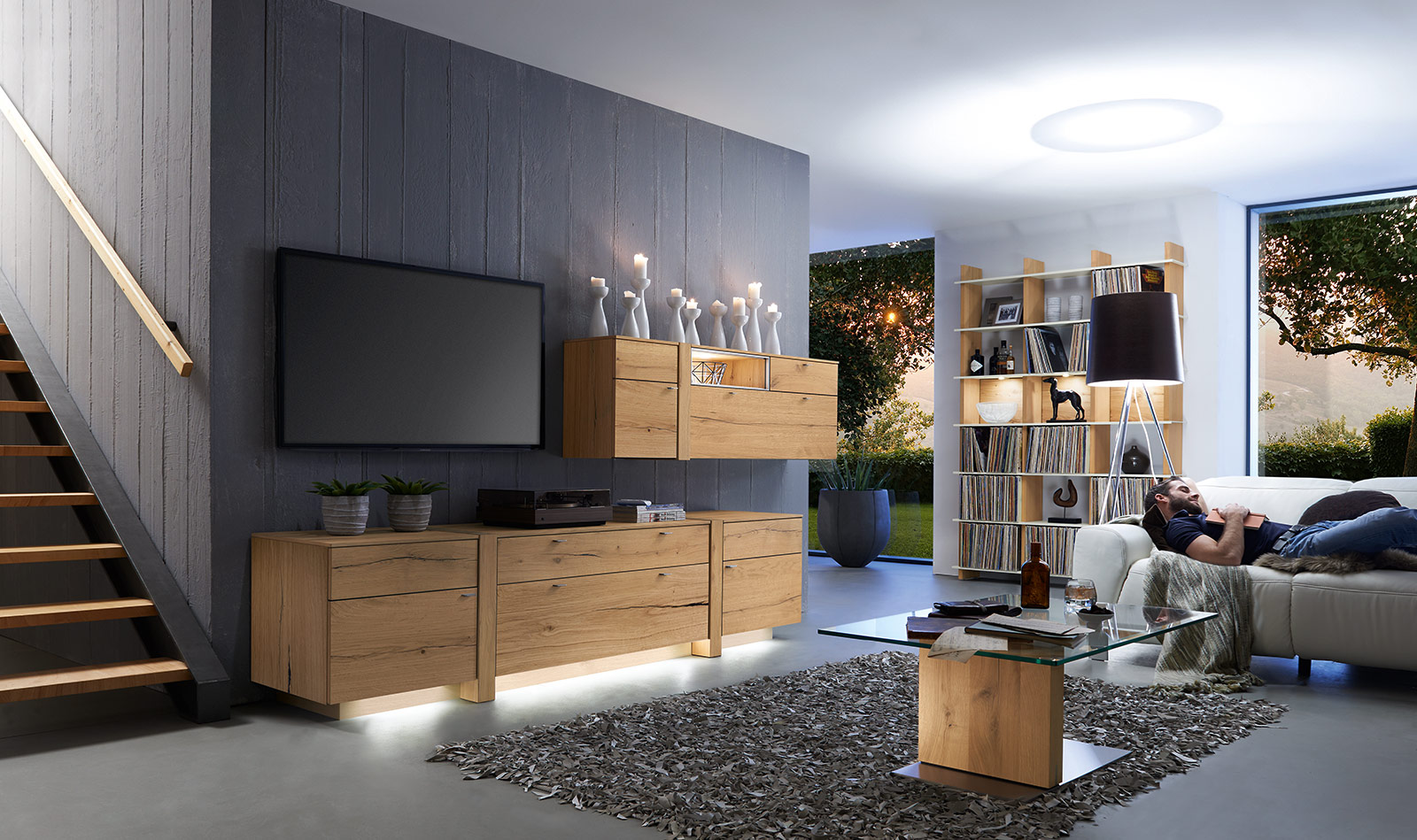 wohnzimmer programme albero venjakob m bel. Black Bedroom Furniture Sets. Home Design Ideas