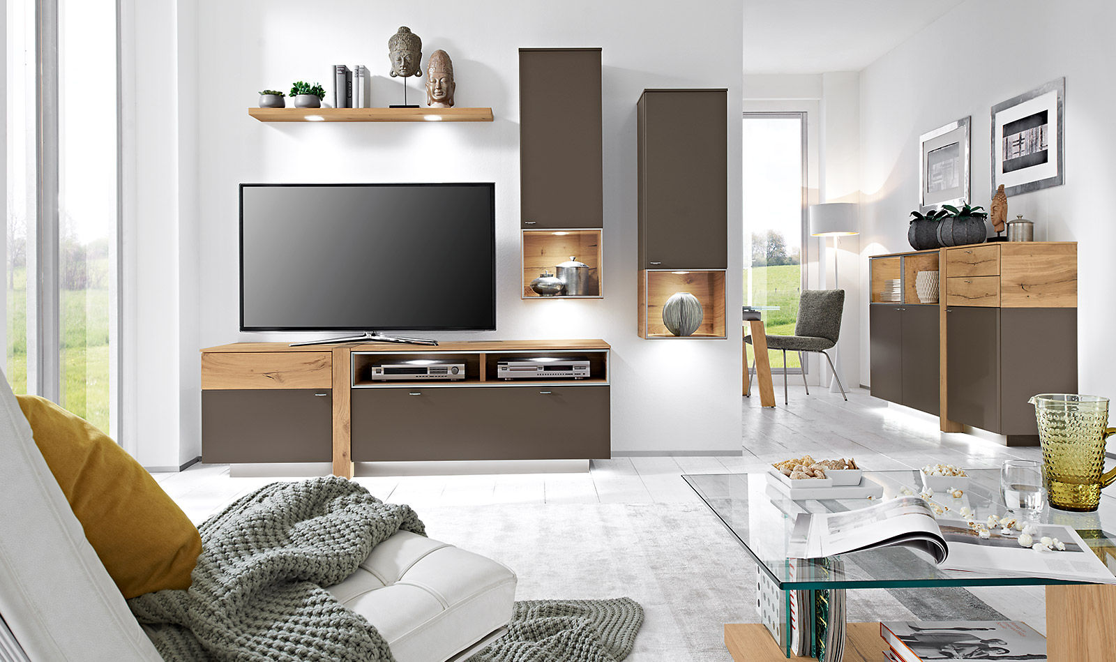 wohnzimmer programme albero venjakob m bel vorsprung durch design und qualit t. Black Bedroom Furniture Sets. Home Design Ideas