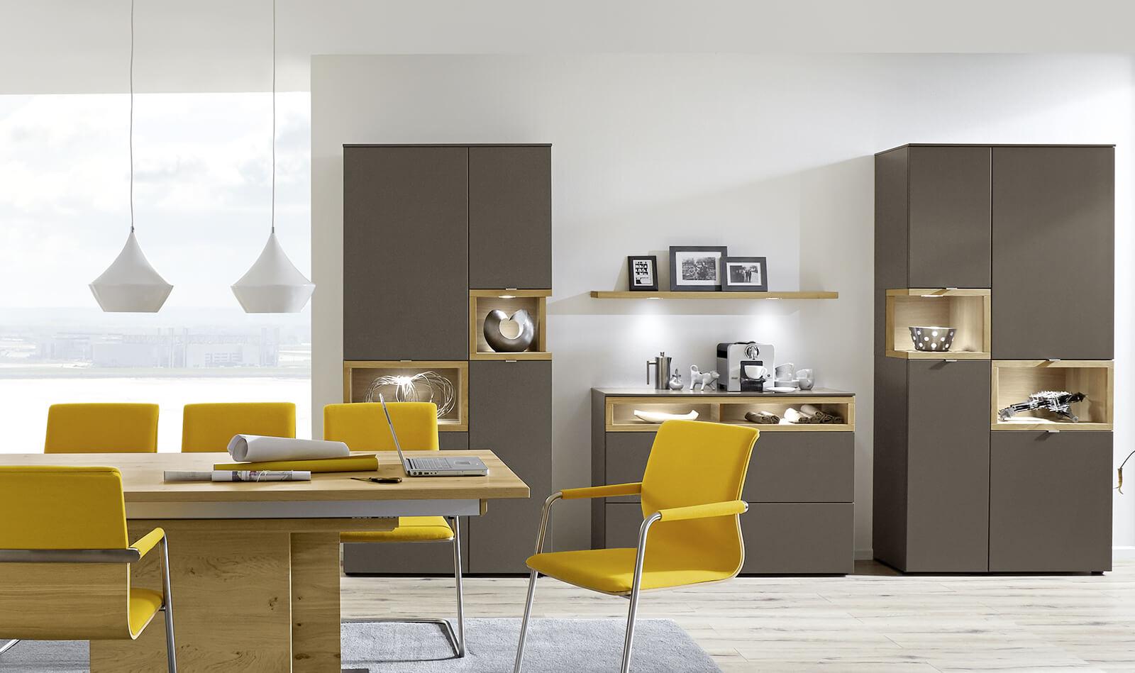 Venjakob wohnwand andiamo for Gestaltungsmoglichkeiten wohnzimmer