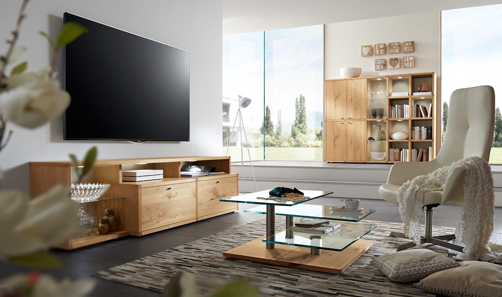 wohnzimmer - programme - anna - venjakob möbel - vorsprung durch, Wohnzimmer dekoo