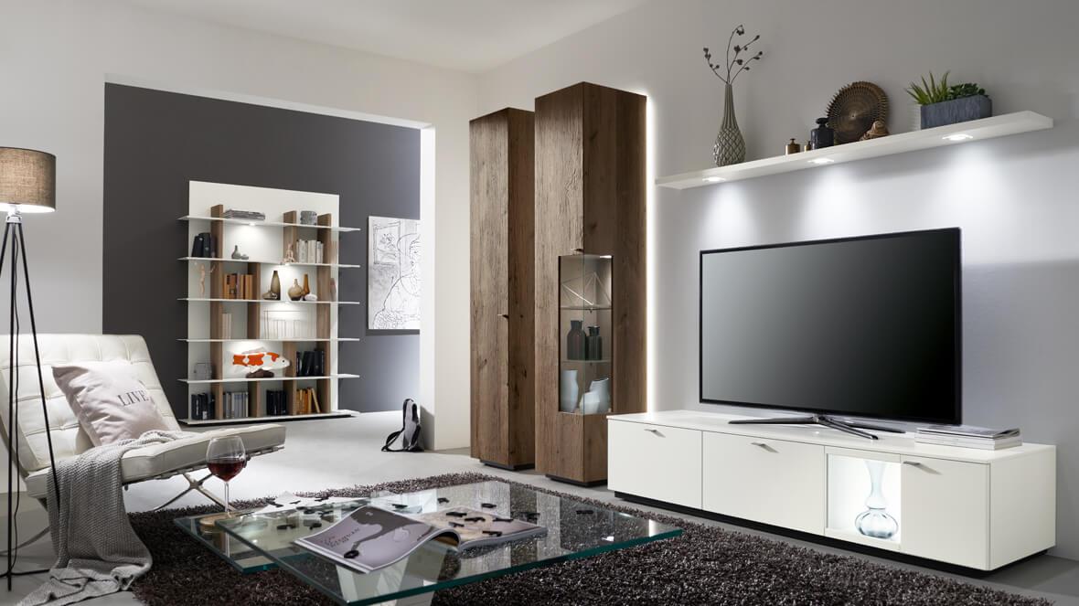 wohnzimmer - programme - cosmo - venjakob möbel - vorsprung durch ... - Wohnzimmer Design Programm
