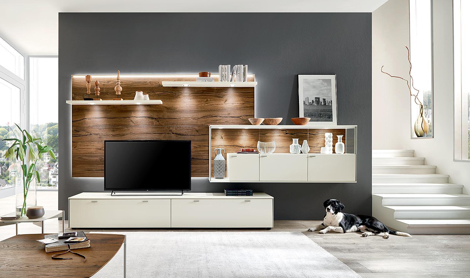 wohnzimmer programme sentino venjakob m bel vorsprung durch design und qualit t. Black Bedroom Furniture Sets. Home Design Ideas