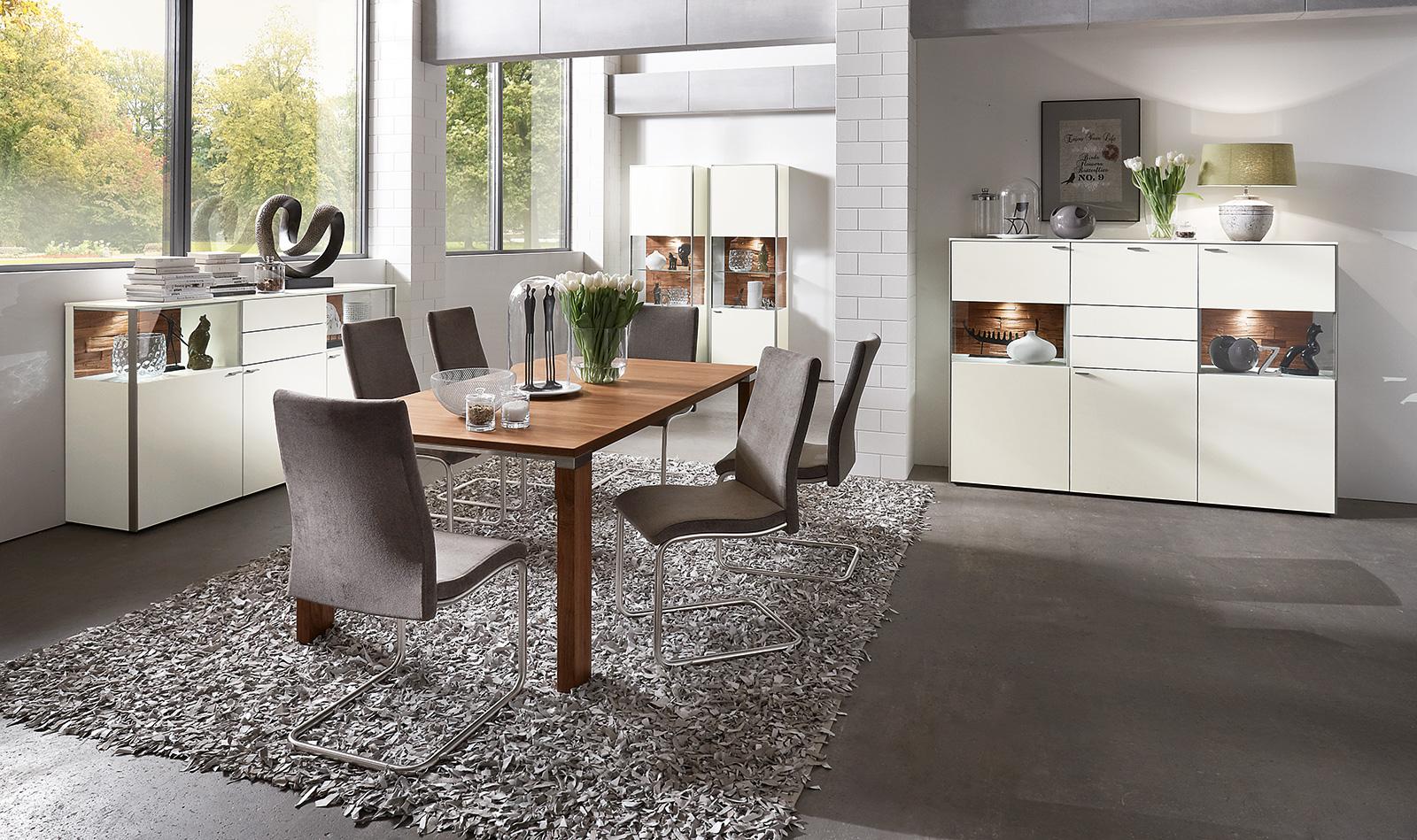 esszimmer programme sentino venjakob m bel vorsprung durch design und qualit t. Black Bedroom Furniture Sets. Home Design Ideas