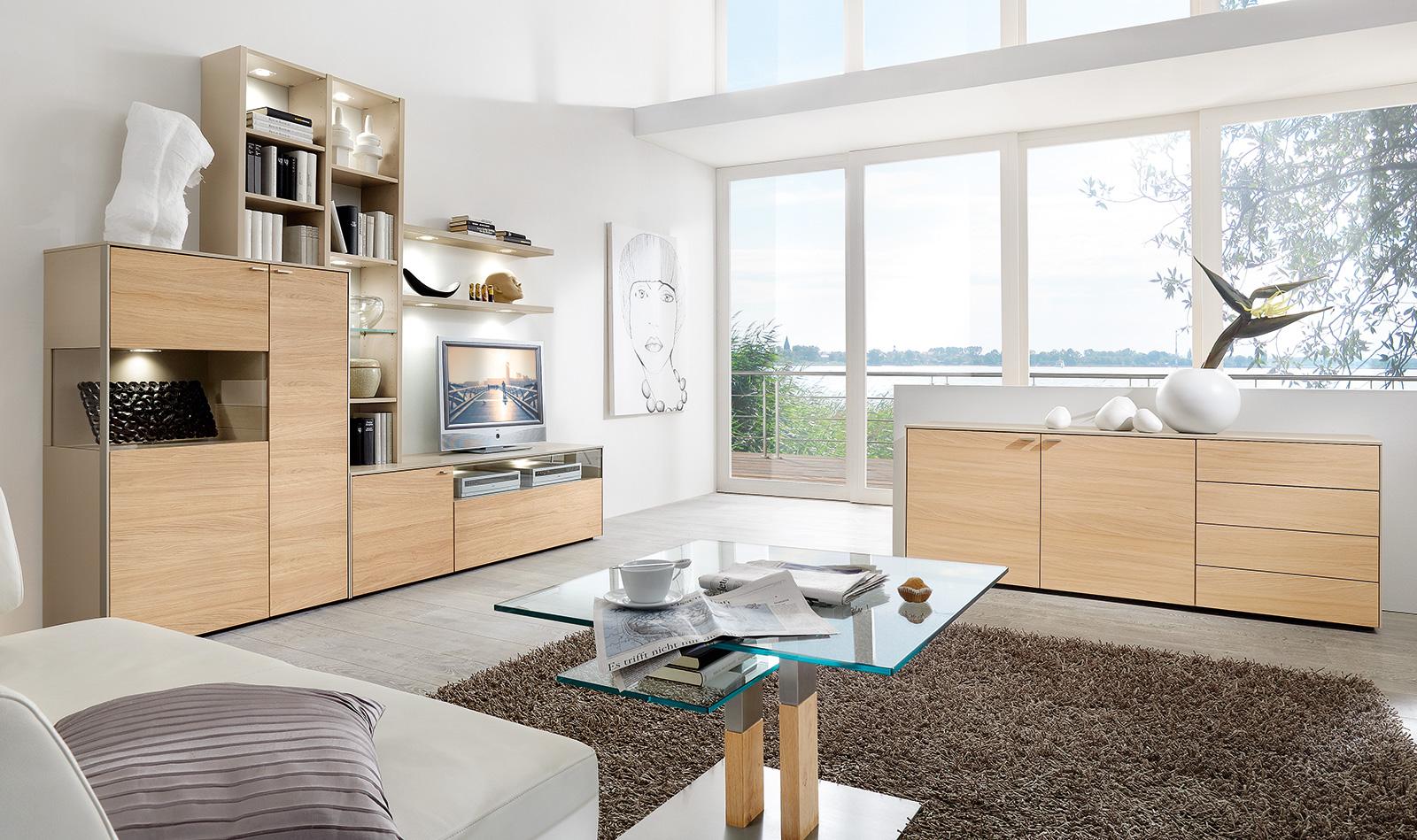 Living rooms ranges sentino venjakob m bel for Sideboard venjakob