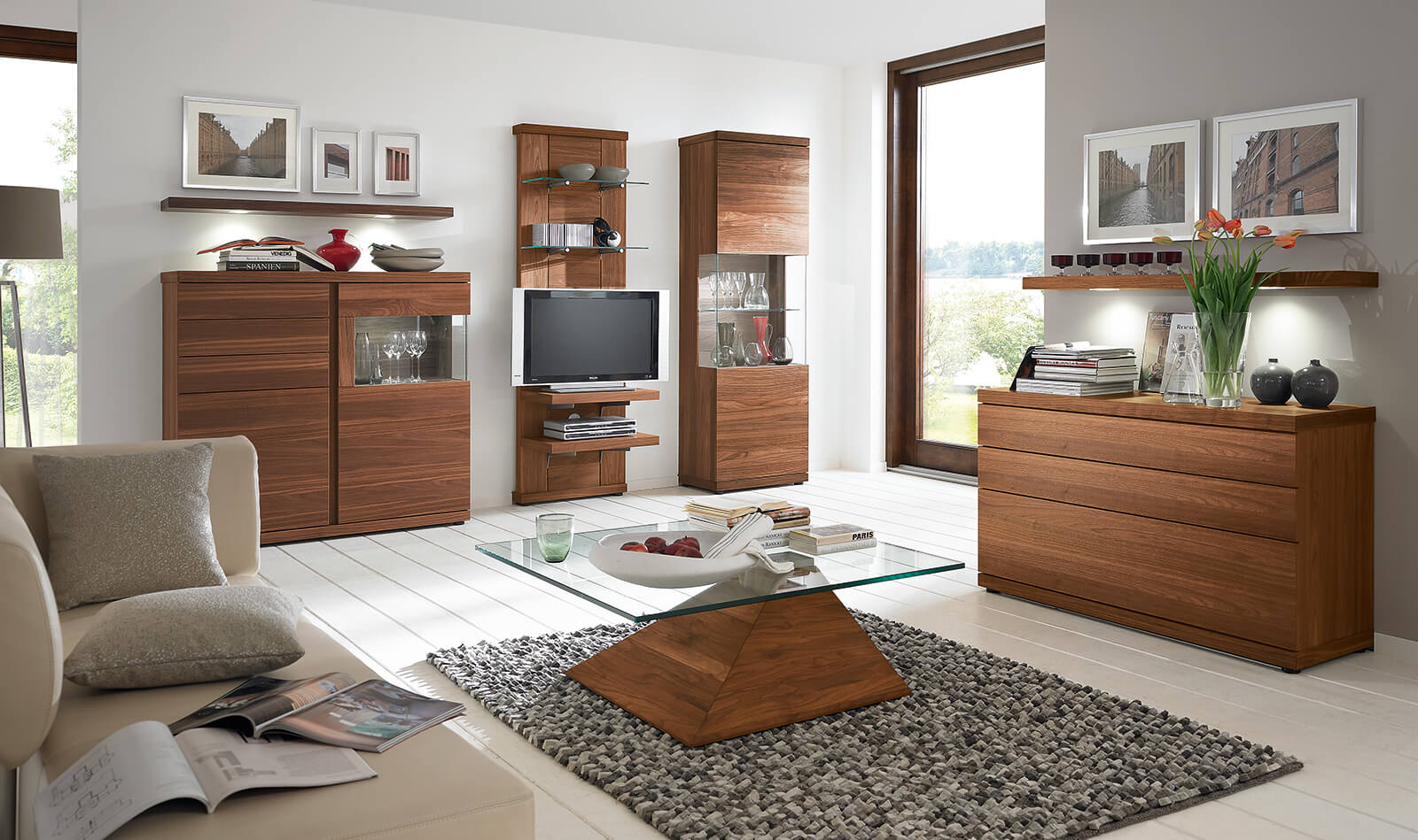 wohnzimmer programme v plus 6 0 venjakob m bel vorsprung durch design und qualit t. Black Bedroom Furniture Sets. Home Design Ideas