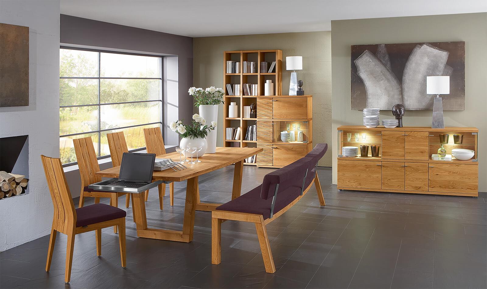 venjakob esszimmer esszimmer mit kcheweisse sthle modern esszimmer berlin esszimmer weiss lack. Black Bedroom Furniture Sets. Home Design Ideas